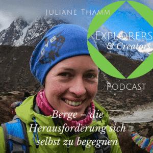 Titelbild Juliane Thamm Explorers & Creators Podcast