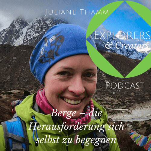 Titelbild Juliane Thamm Explorers & Creators Podcast