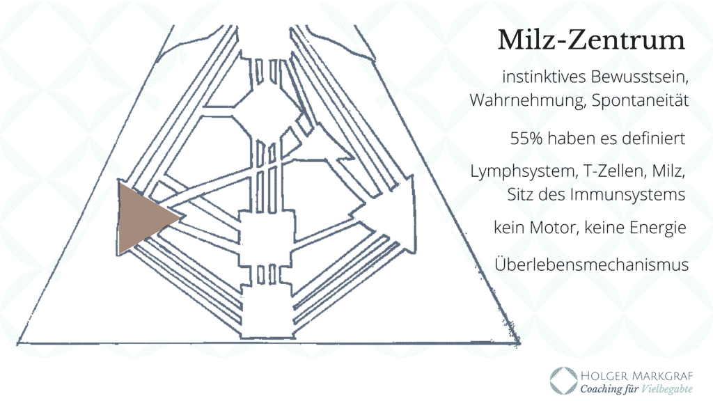 Die Neun Zentren im Human Design - Milz-Zentrum