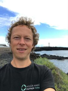 Fokus und Klarheit für vielbegabte Scannerpersönlichkeiten Holger Markgraf in Los Llanos
