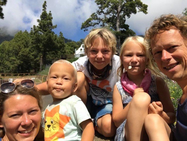 Familie Markgraf findet Lösungen für vielbegabte Scannerpersönlichkeiten in La Palma
