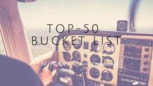 bucket list Top 50